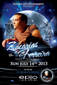 ZACARIAS FERREIRAS EN EPIC BAR