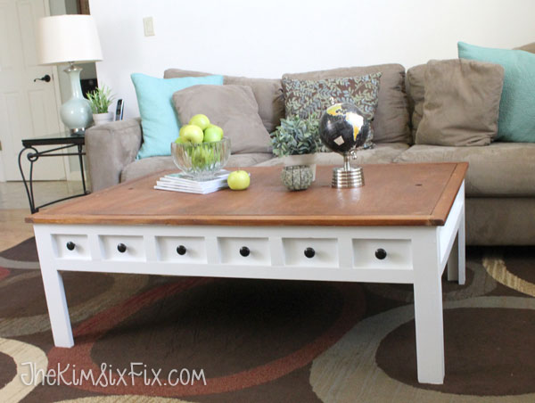 Apothecary Style Coffee Table With Hidden Lego And Train Play Areas The Kim Six Fix