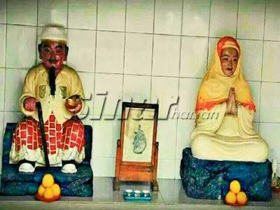 Henti sebar gambar patung haji, hajah [ Dikatakan Telah Di Jadikan Sebagai Dewa Masyarakat Cina Di Perak ]