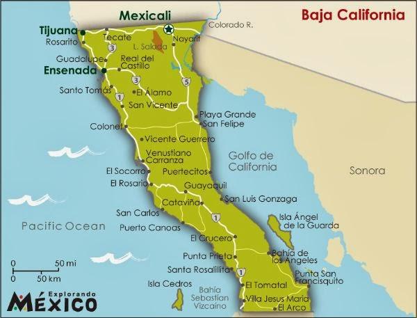 Datos mas importantes de Baja California