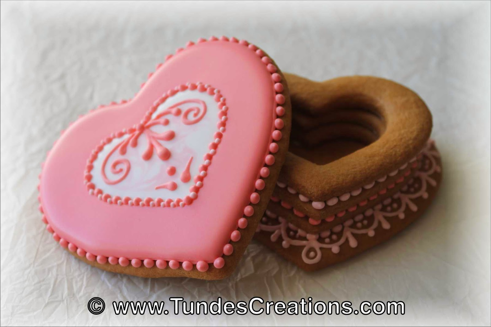 Valentine's cookie gift box