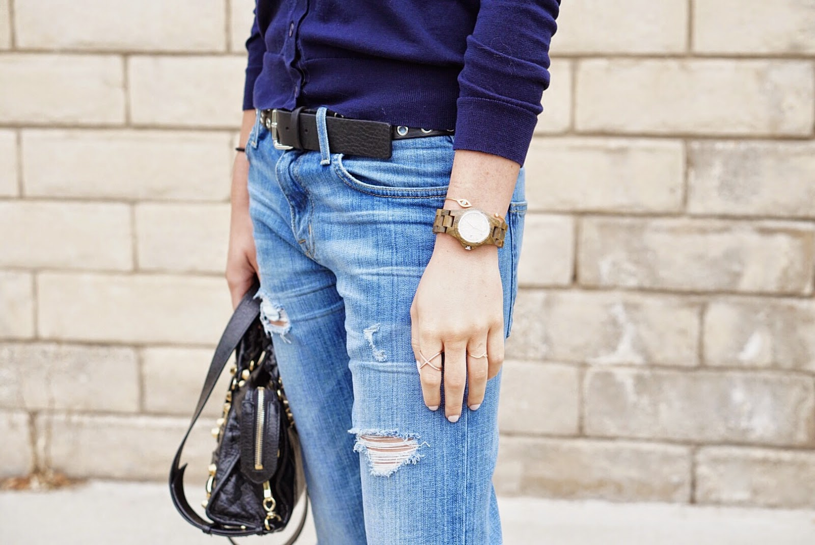 jord watches, wood watch, womens watches, swedish watches, fashion blogger los angeles, uniqlo lifewear, uniqlo cardigan, balenciaga mini city bag