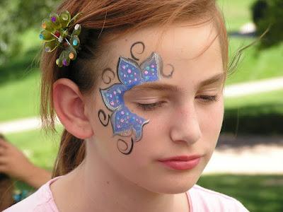 Easy Face Painting For Boys Face paint ideas Easy Face Painting Boys