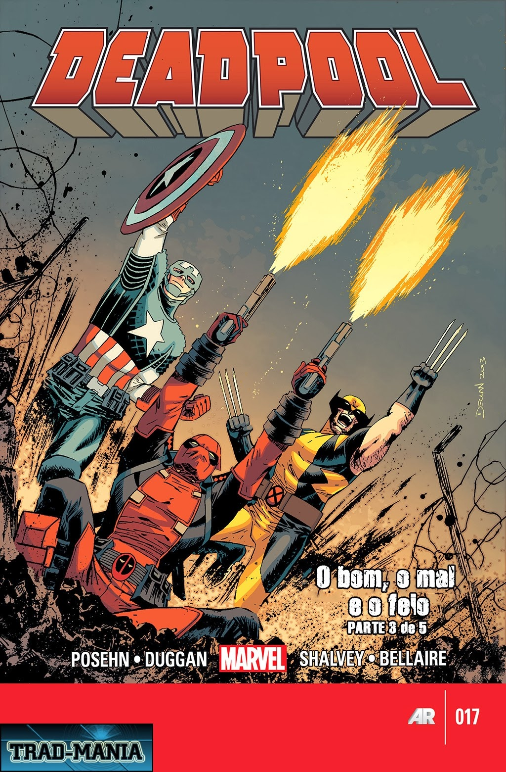 Nova Marvel! Deadpool v5 #17