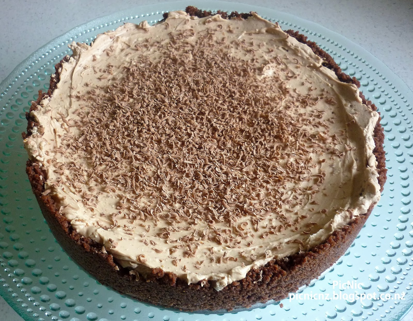PicNic: Chocolate Orange Cheesecake