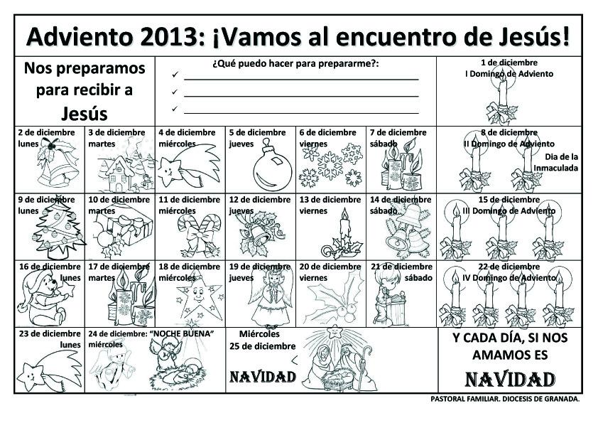 Blog para una Navidad Feliz: Recursos Catequesis Adviento 2013 Ciclo A