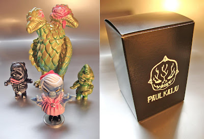 """Mayhem Picnic"" Resin Figure Box Set by Paul Kaiju - Pasty Batsy, Biter Baby, Chibi Welt & Seagool Resin Figures"