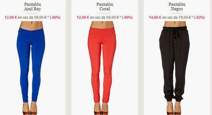 Pantalones para mujer por sólo 12 euros