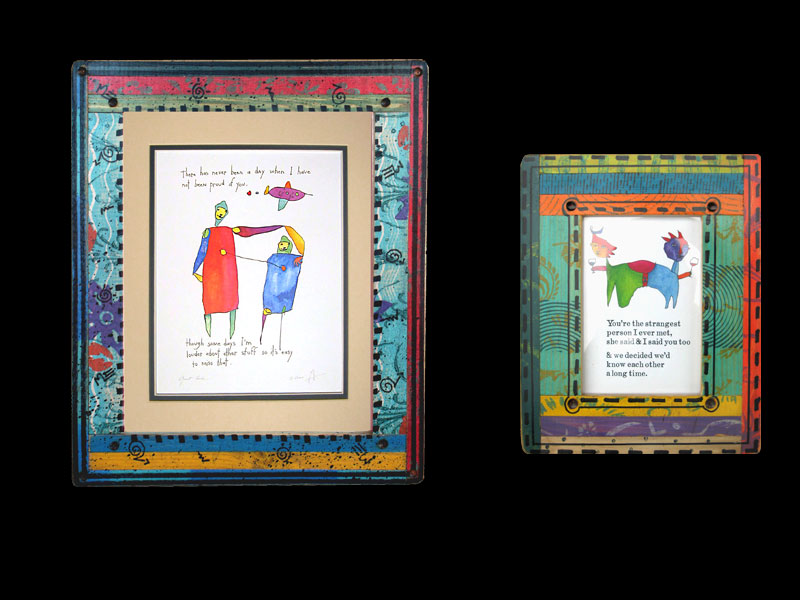 Janet Francoeur My Art - My Travels - My Thoughts: New Frames Look ...