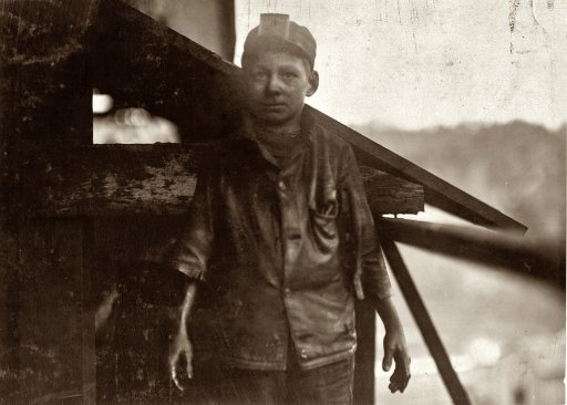 The story of one Young Man who worked in the Mines ~