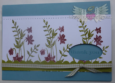 Marker Stamping Technique Card