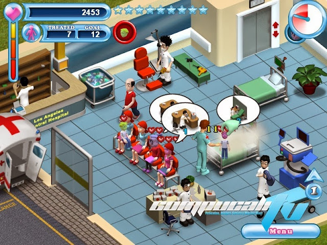 Hysteria Hospital Emergency Ward PC Full Español