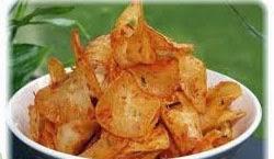 cara membuat (membikin) makanan ringan khas keripik kentang spesial pedas, gurih, nikmat