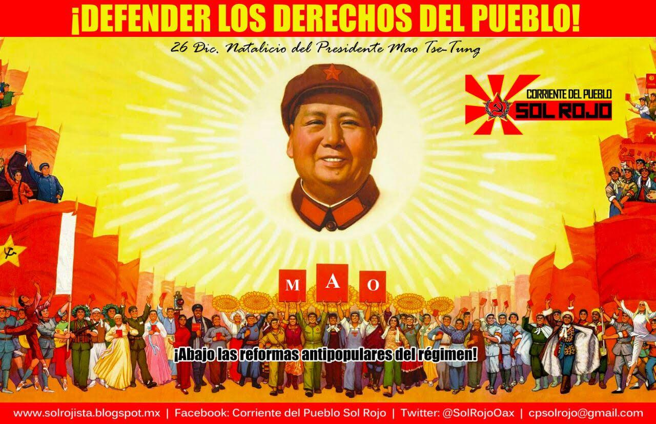 ¡Defender los derechos del pueblo!