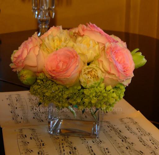 Centros de mesa para bautizo con flores | Centros de mesa