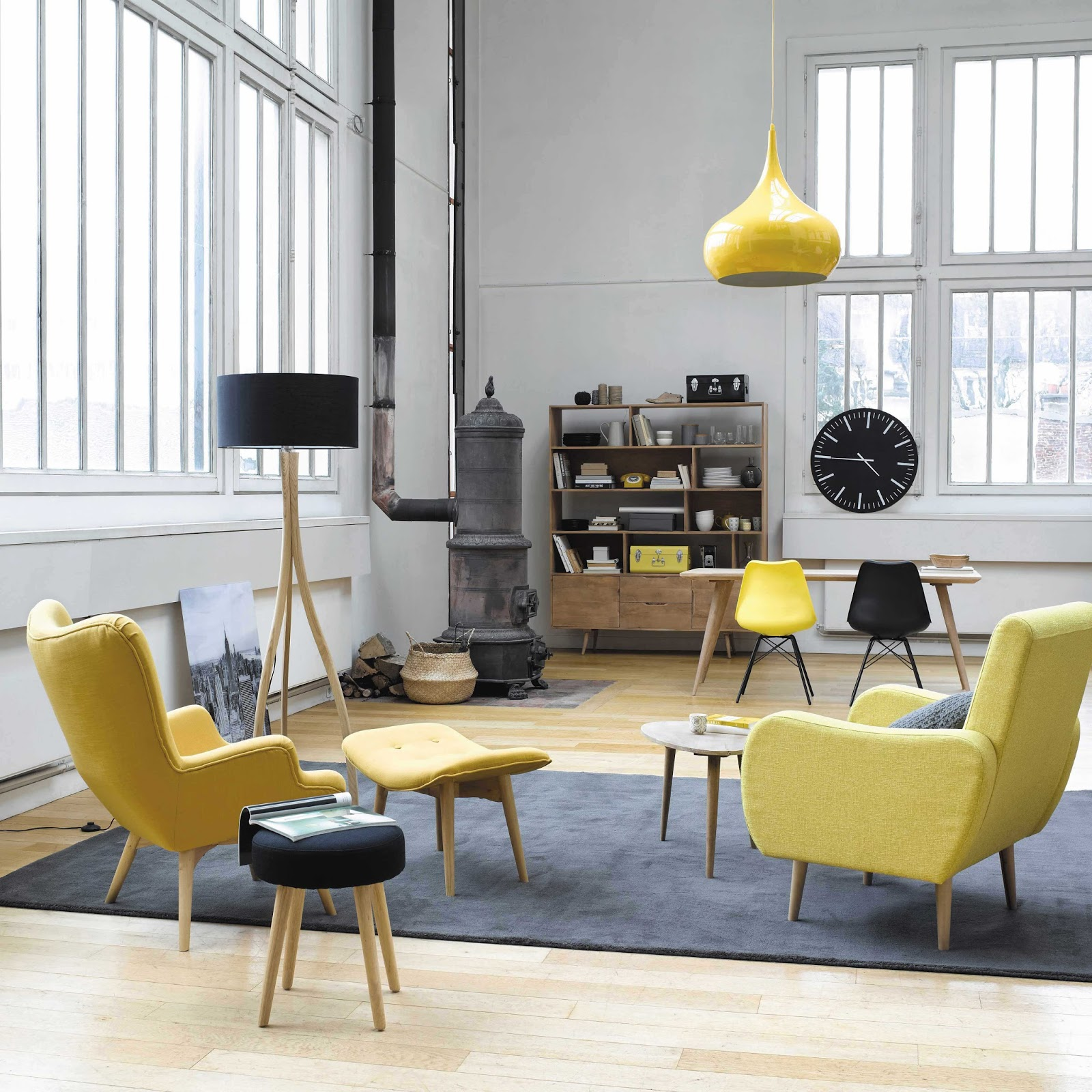 Loft jaune dekobook for Above all grand salon