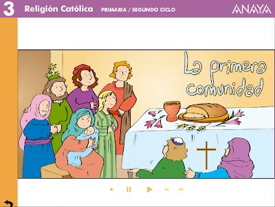 El nacimiento de la Iglesia, Religión, La primera comunidad cristiana