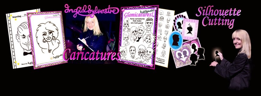 Ingrid's NEW Caricatures & Silhouettes Facebook page
