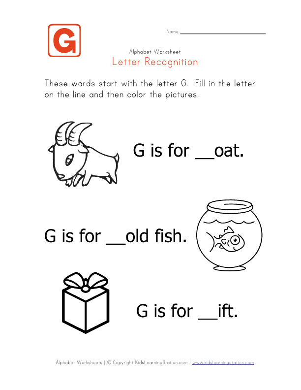 Words That Begin With The Letter G In Spanish