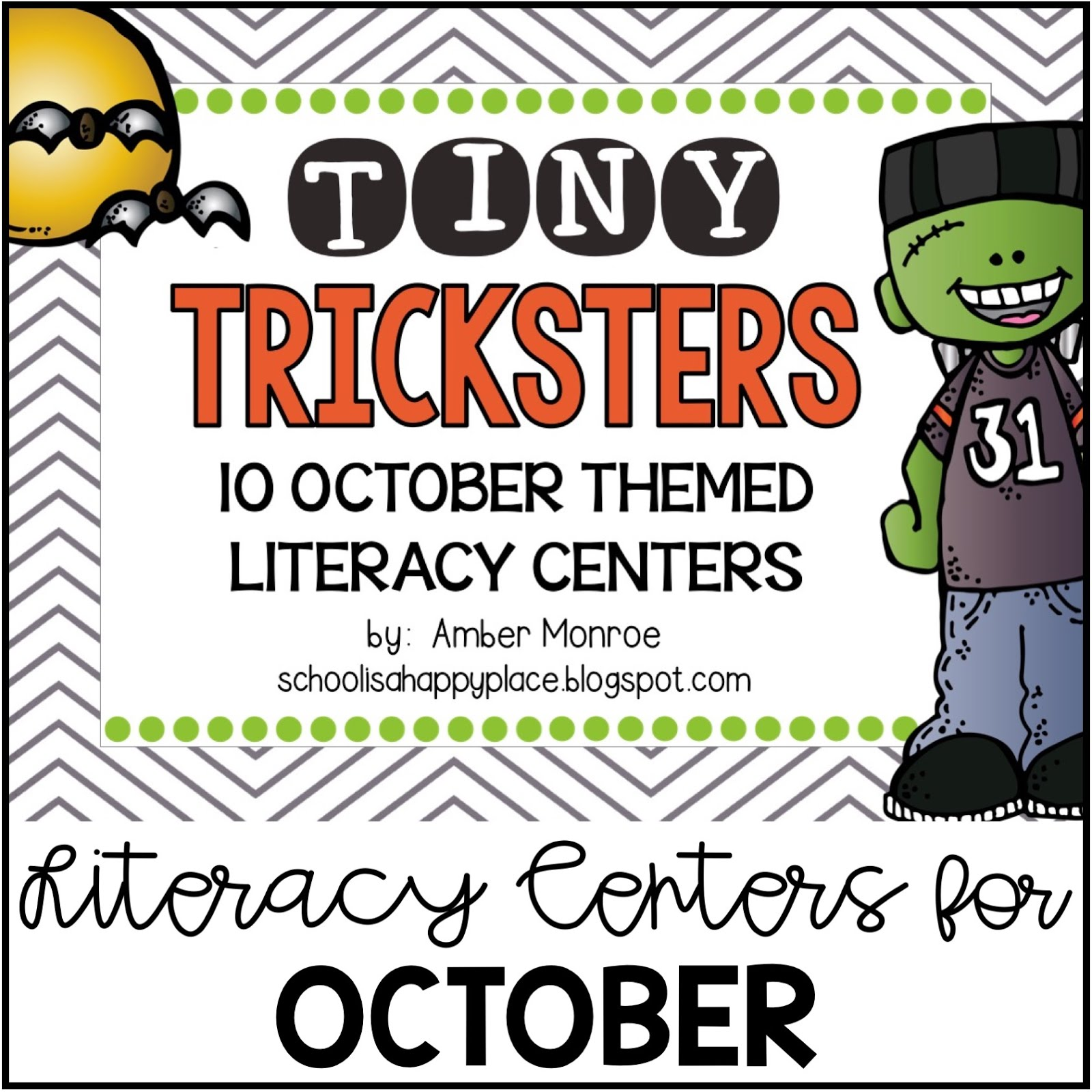 Literacy Centers for October