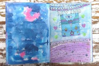 fotos e imagens de cadernos decorados