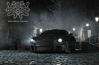 Aston Martin DB-S ostenta fibra de carbono e detalhes de ouro
