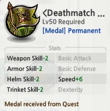 Medal Death Match 1000 Win