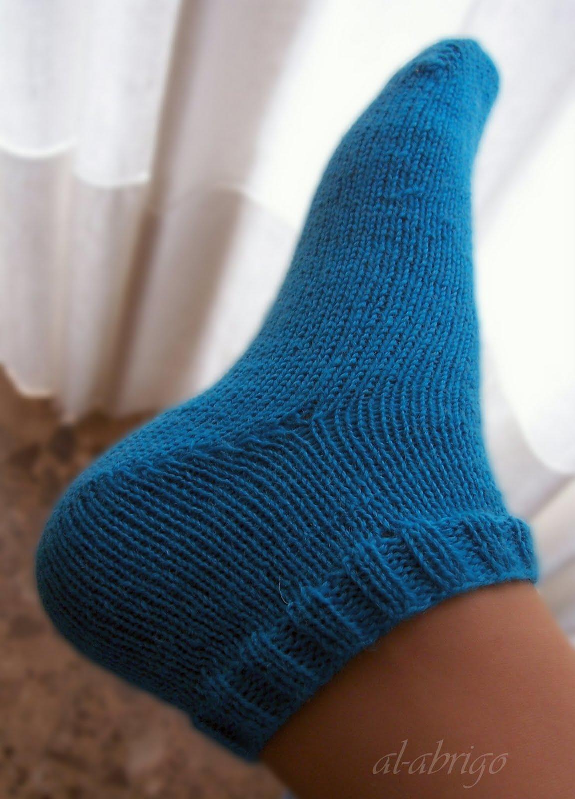 Principiante de calceta - Como hacer calcetines de lana ...