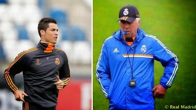 انشيلوتي رونالدو جاهز لنهائي ريال مدريد و اتلتيكو مدريد