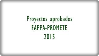 Foro sobre proyectos Fappa y Promete
