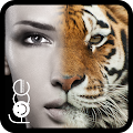 InstaFace - Aplikasi Edit foto Wajah Harimau