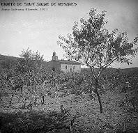 La capella de Sant Jaume de Rosanes. Fotografia de Josep Salvany Blanch, 1923. Biblioteca de Catalunya