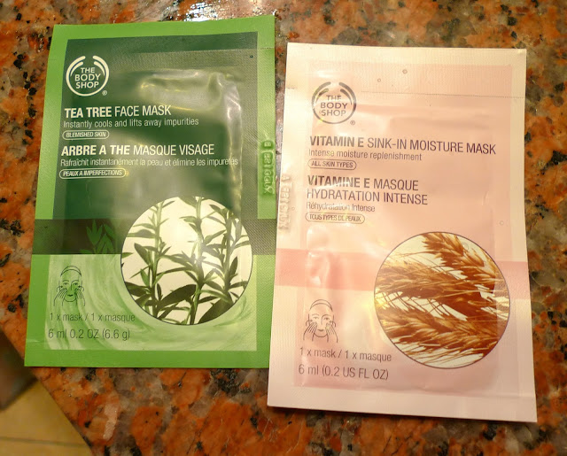 The Body Shop S All New Skin Care Mask Sachets The