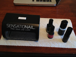 Sensationail Kit Gel Polish Manicure