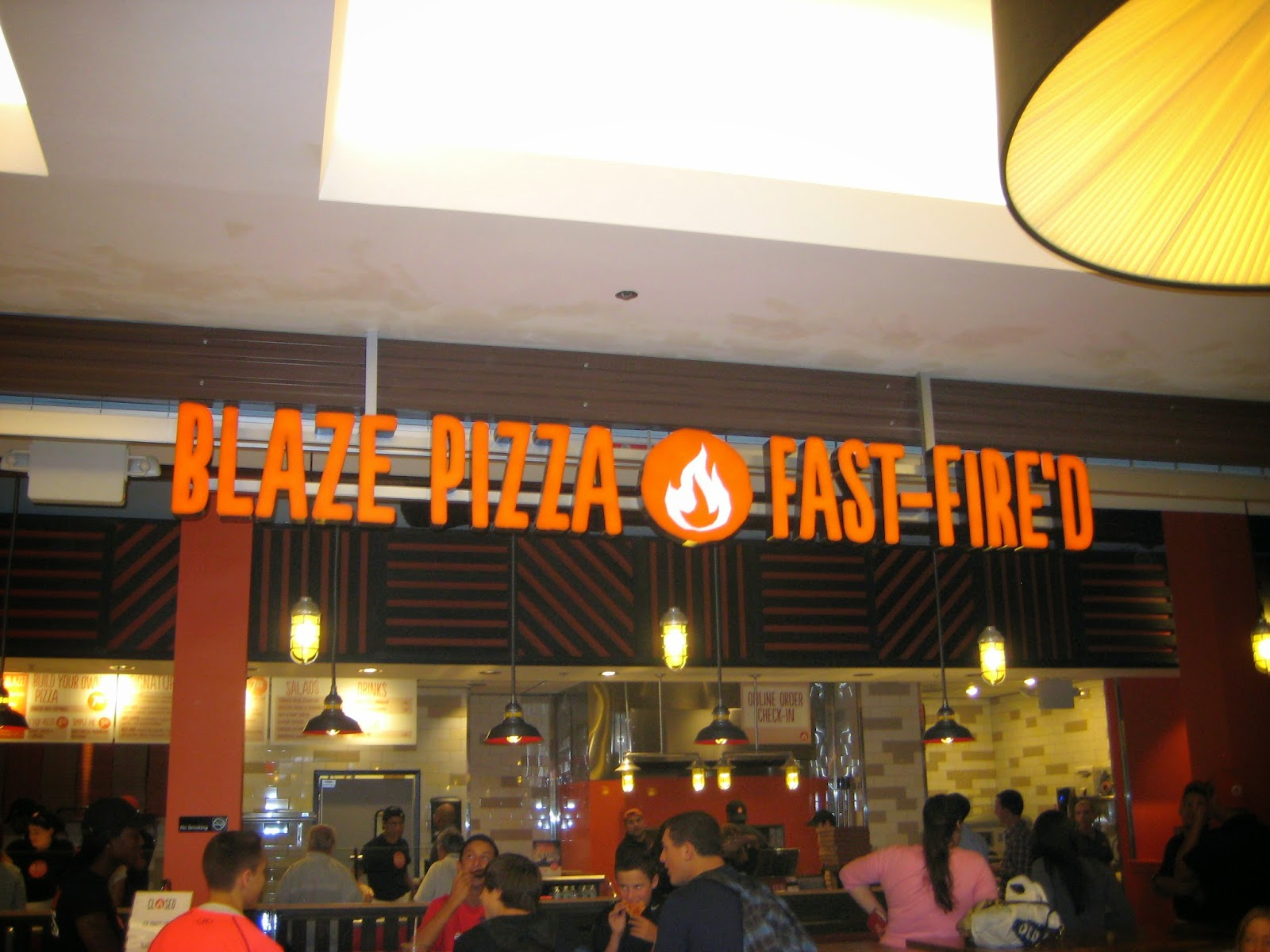 Blaze Pizza Opens At Westfield Montgomery Mall Video Photos
