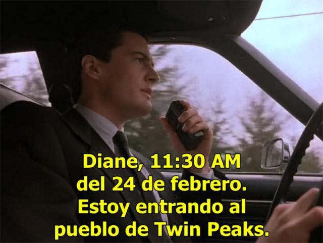 "Diana Quer es Diane de ""Twin Peaks"""