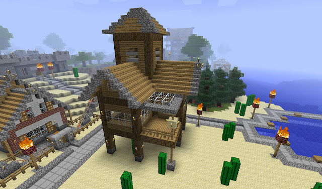 Minecraft – Crafted Area