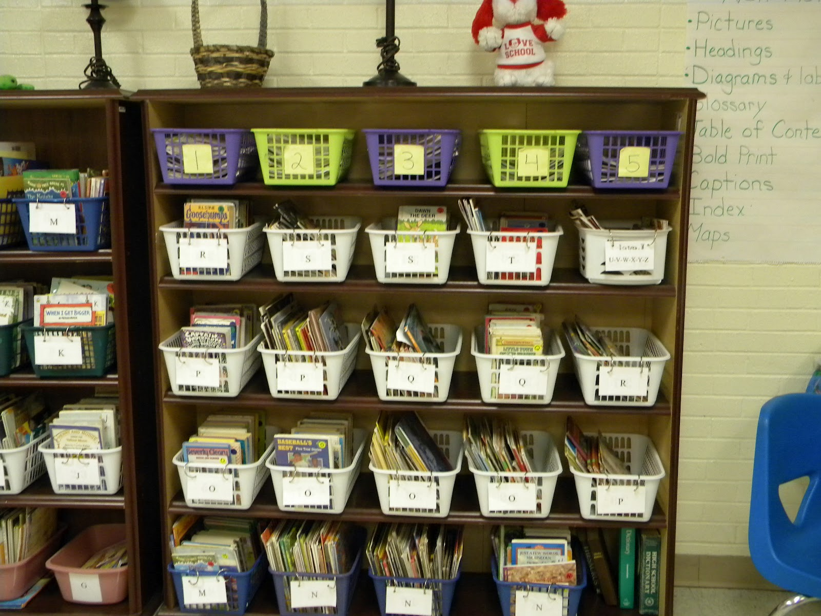 classroom library check out system can t find substitution for