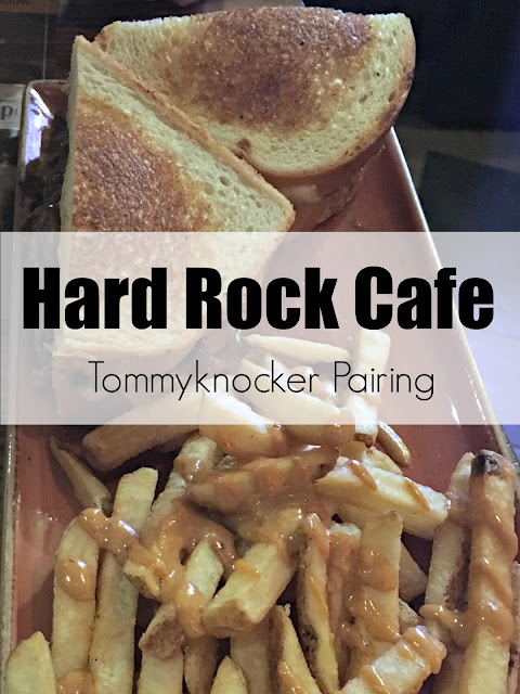Hard Rock Cafe Denver, Tommyknocker beer, Tommyknocker and Hard Rock Cafe Burger, Chuck Nasty Burger, Hard Rock Menu, #ThisIsHardRock