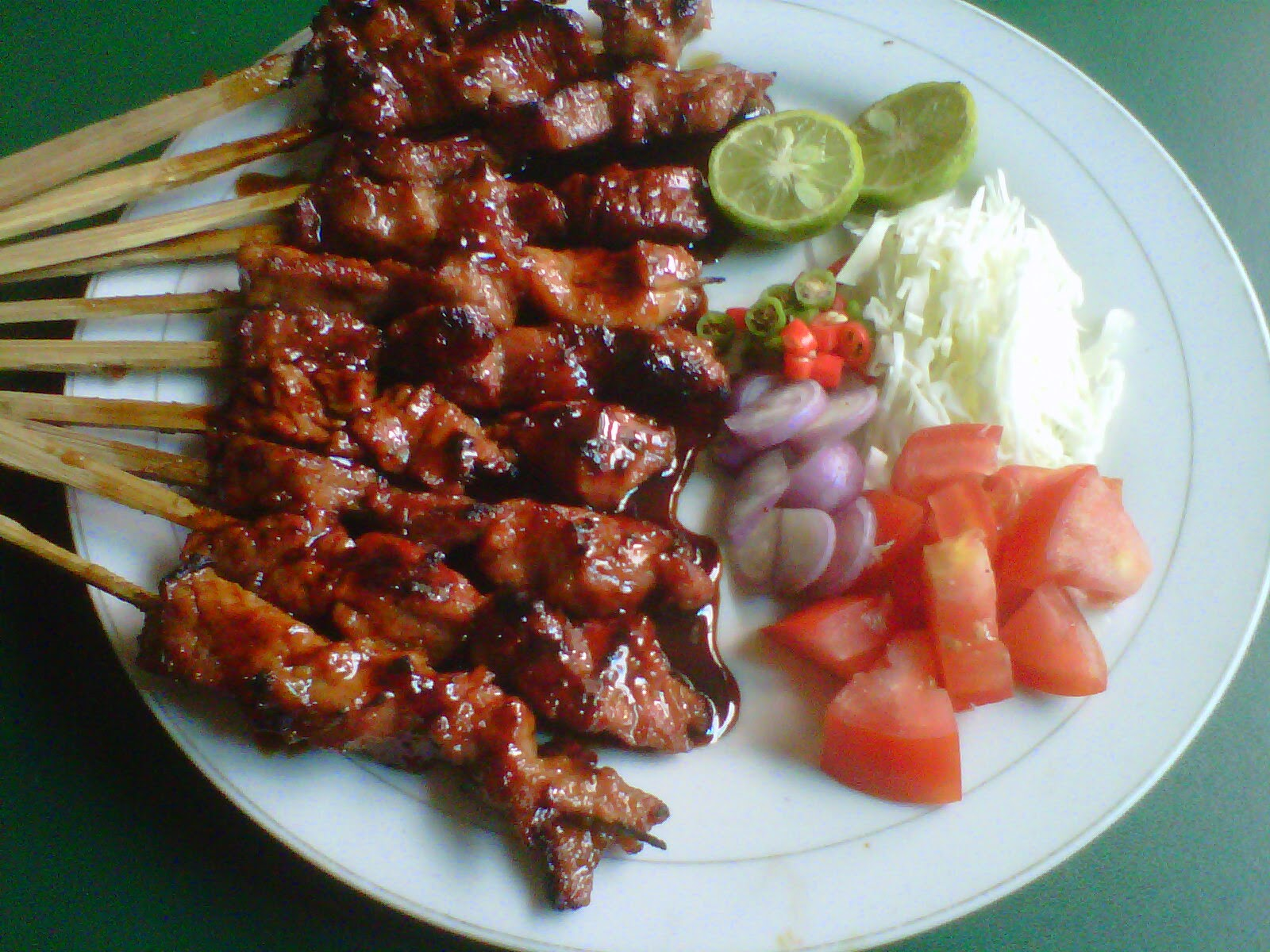 resep sate kambing