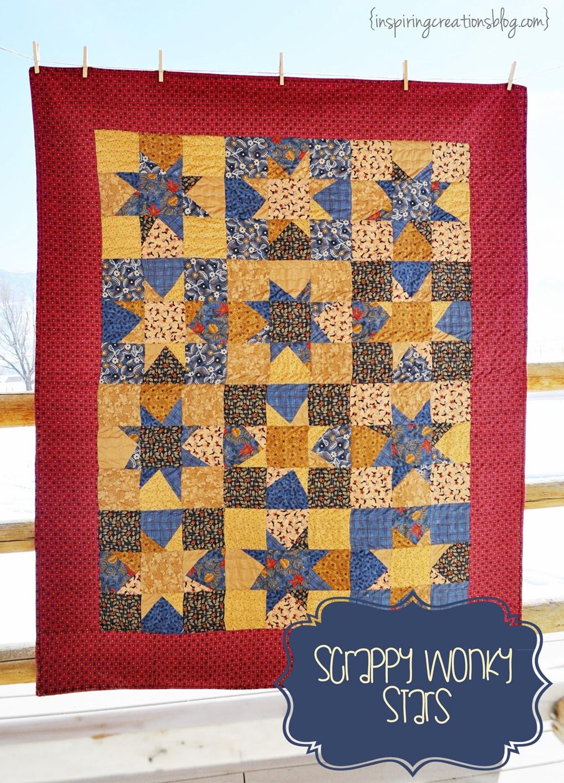 Inspiring Creations Wonky Star Quilt