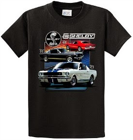 60s Ford Shelby Mustang T-shirt for Men