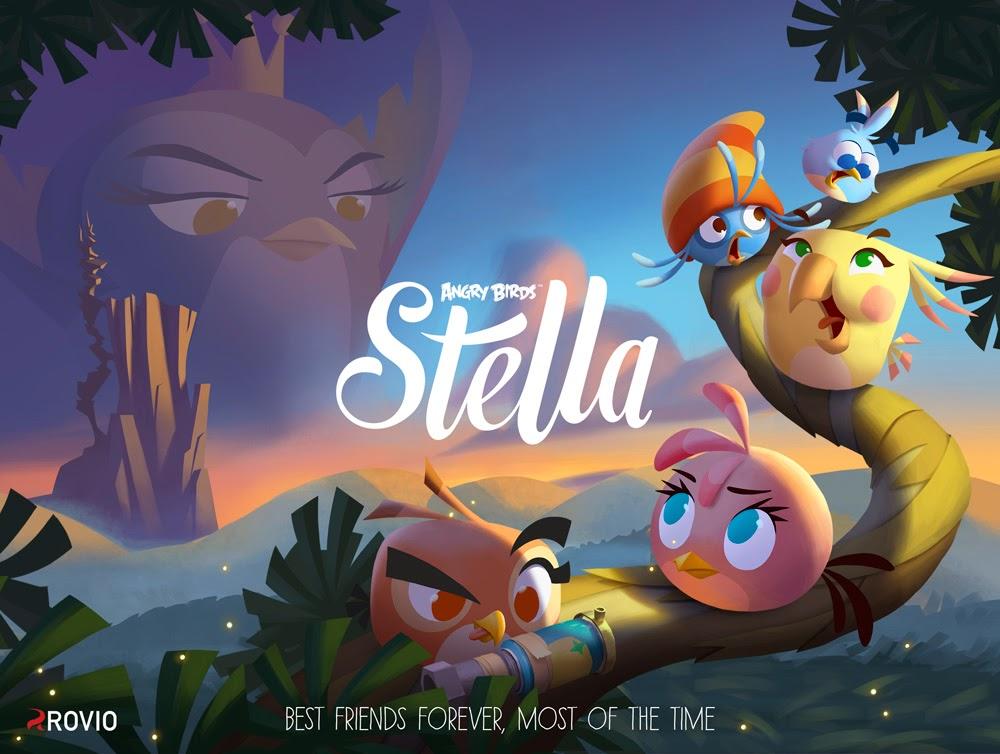 Angry Birds Stella Yakında Geliyor