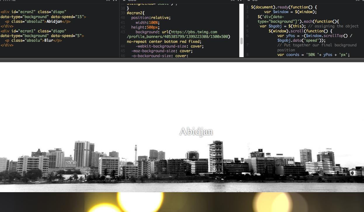L'effet «Parallax Scrolling» , en 11 lignes de jQuery, A Unix Mind In A Windows World