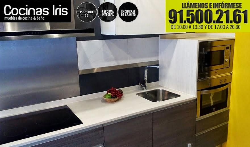 muebles de cocinas iris madrid