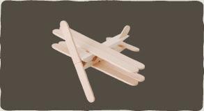 PAP - Avião com Palitos de Picolé 08
