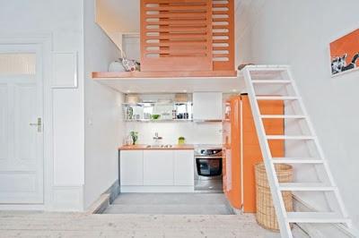 diseño de cocina pequeña