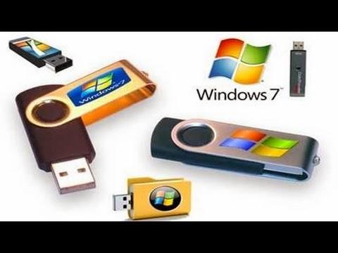 شرح كيفية نسخ إسطوانة ويندوز 7 علي الفلاش ميموري وجعلها تقلع من الدوس Burn Windows on Flash Memory