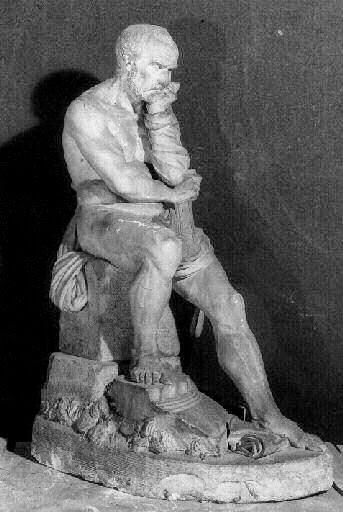 Marius medite sur les ruines de Carthage