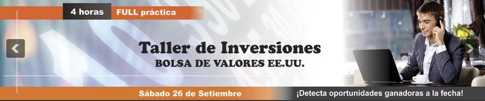 Seminario Taller de Inversiones en Bolsa de Valores